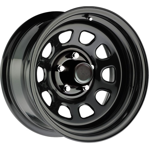 Series 52 Black Steel Wheel 5/114.3 17x8 6N